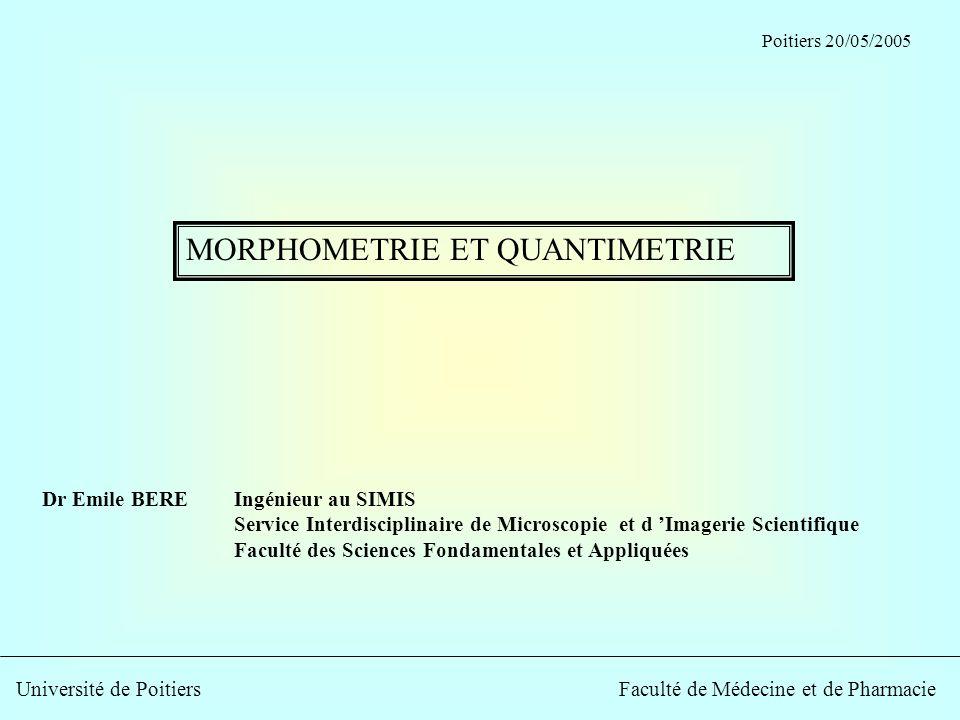 Dr Emile BEREIngénieur au SIMIS Service Interdisciplinaire de Microscopie et d Imagerie Scientifique Faculté des Sciences Fondamentales et Appliquées