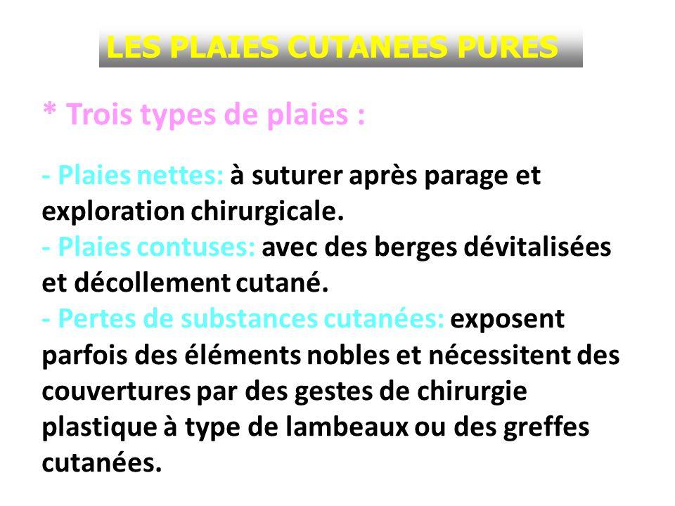CLASSIFICATION ANATOMO-CHIRURGICALE Boutonnière LES PLAIES DES EXTENSEURS