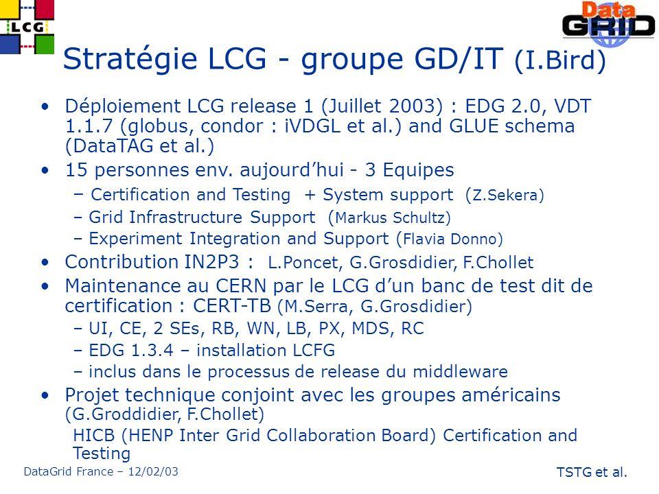 DataGrid France – 12/02/03 TSTG et al.