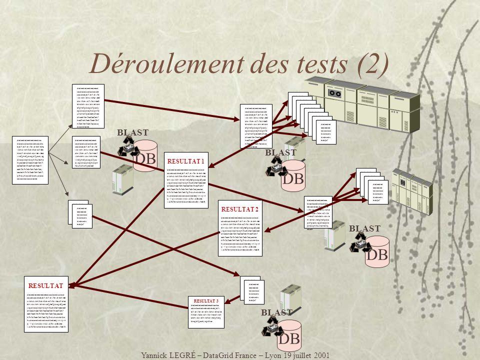 Multicasting Yannick LEGRÉ – DataGrid France – Lyon 19 juillet 2001