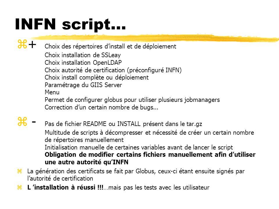 INFN script...
