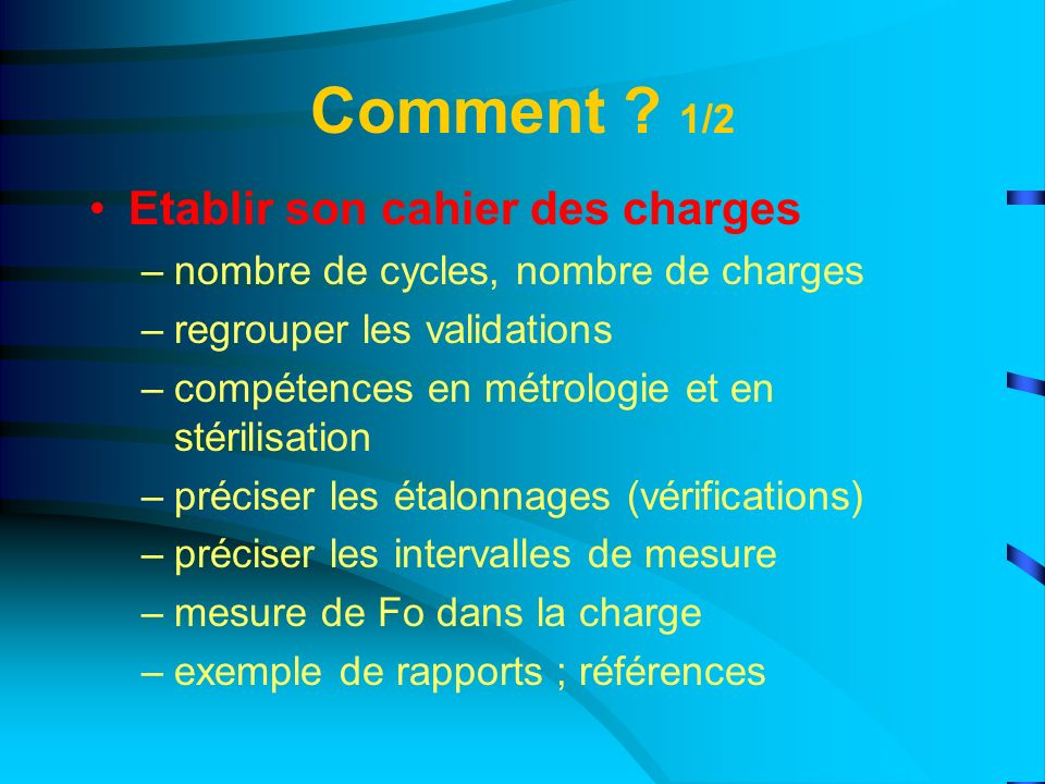 Requalification opérationnelle 2/3 Quel type de cycle .