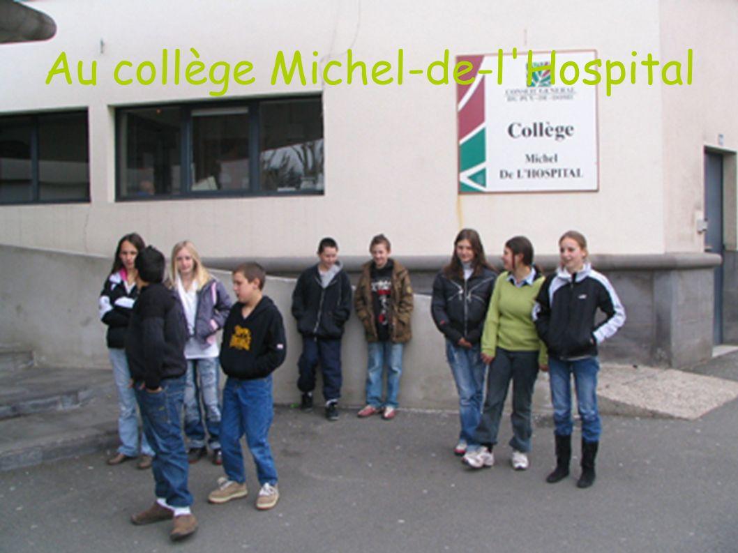 Au collège Michel-de-l'Hospital