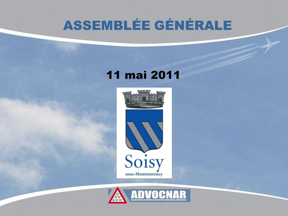 ASSEMBLÉE GÉNÉRALE 11 mai 2011