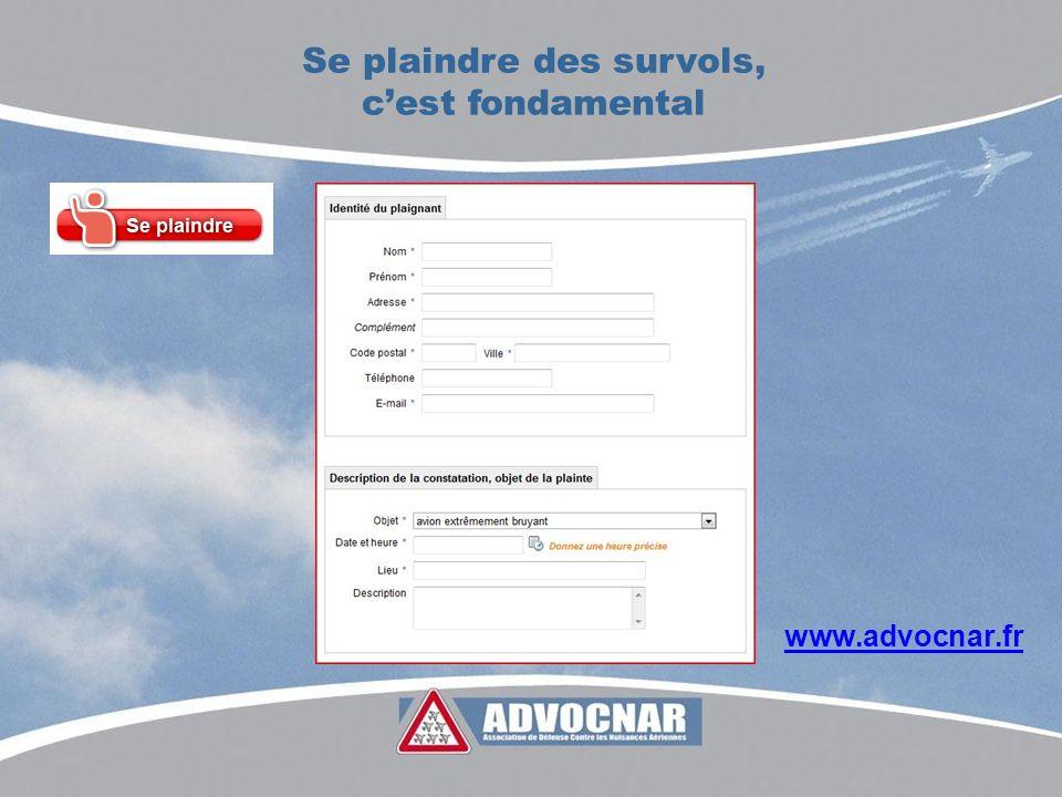 Se plaindre des survols, cest fondamental www.advocnar.fr