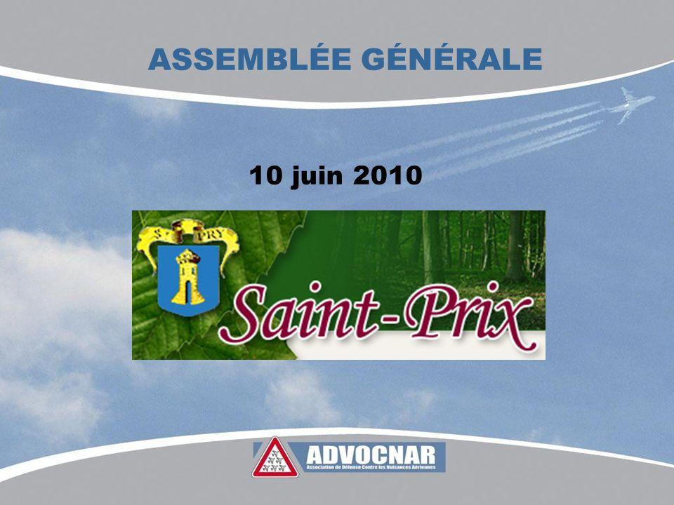 ASSEMBLÉE GÉNÉRALE 10 juin 2010