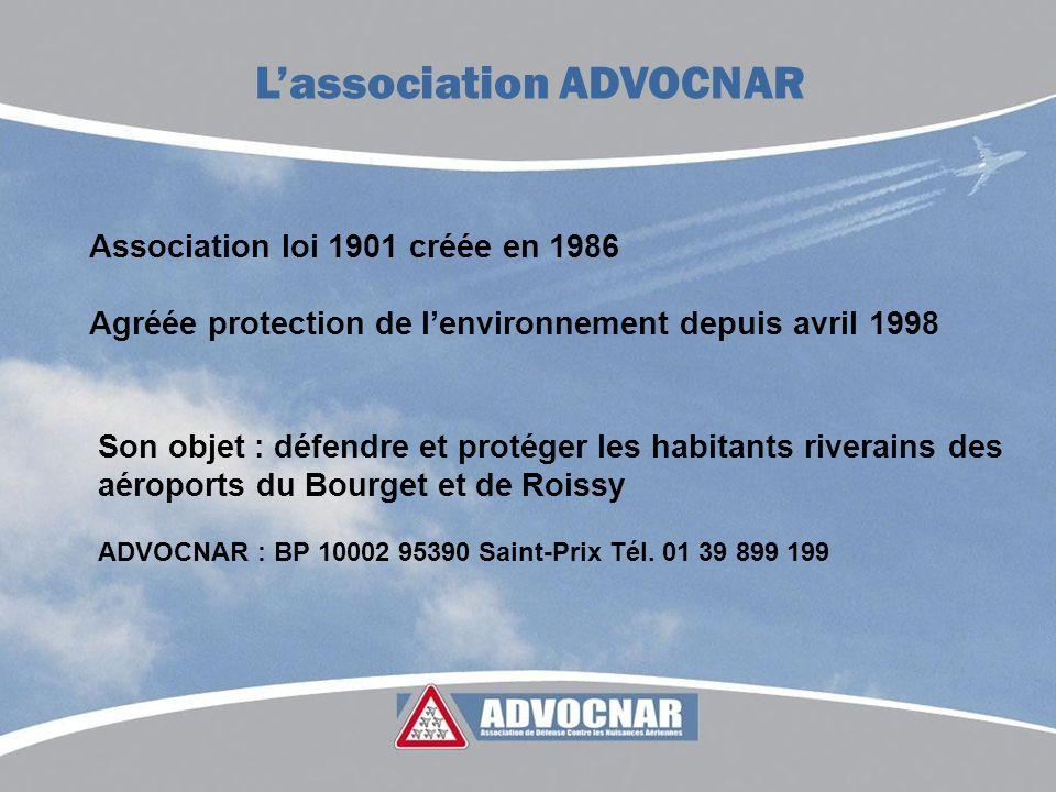 Association loi 1901 créée en 1986 Agréée protection de lenvironnement depuis avril 1998 Lassociation ADVOCNAR Son objet : défendre et protéger les ha