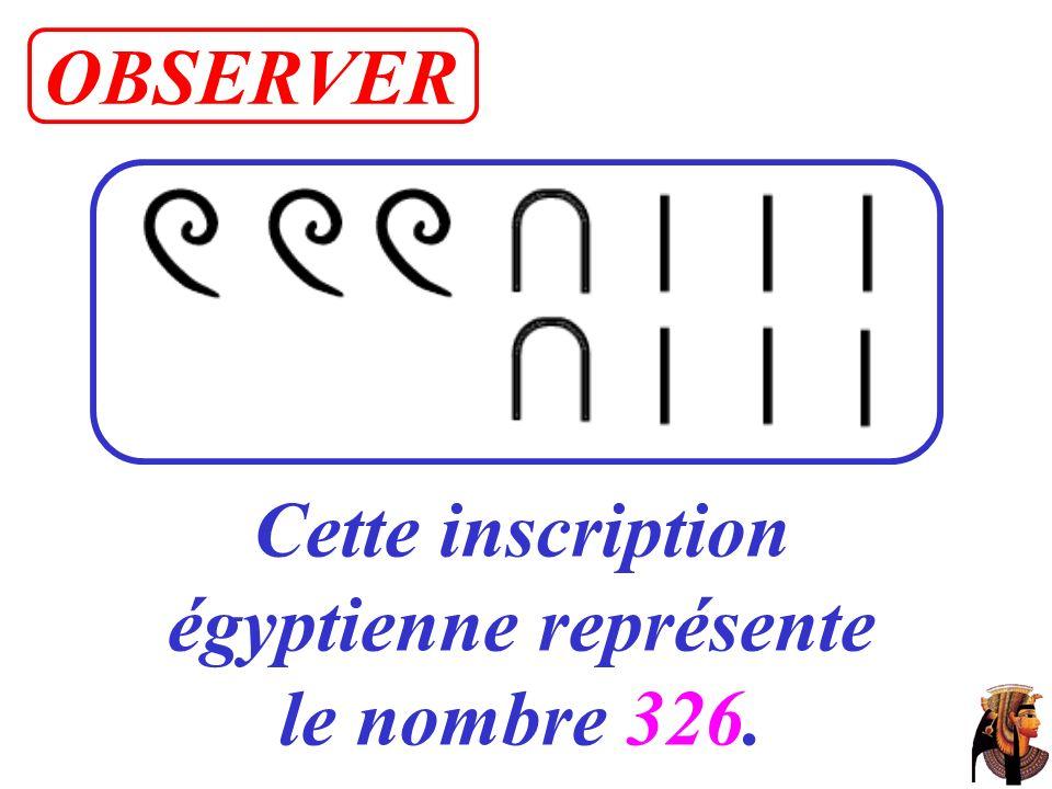 4. Ecris les nombres suivants en utilisant le système égyptien. 1 420