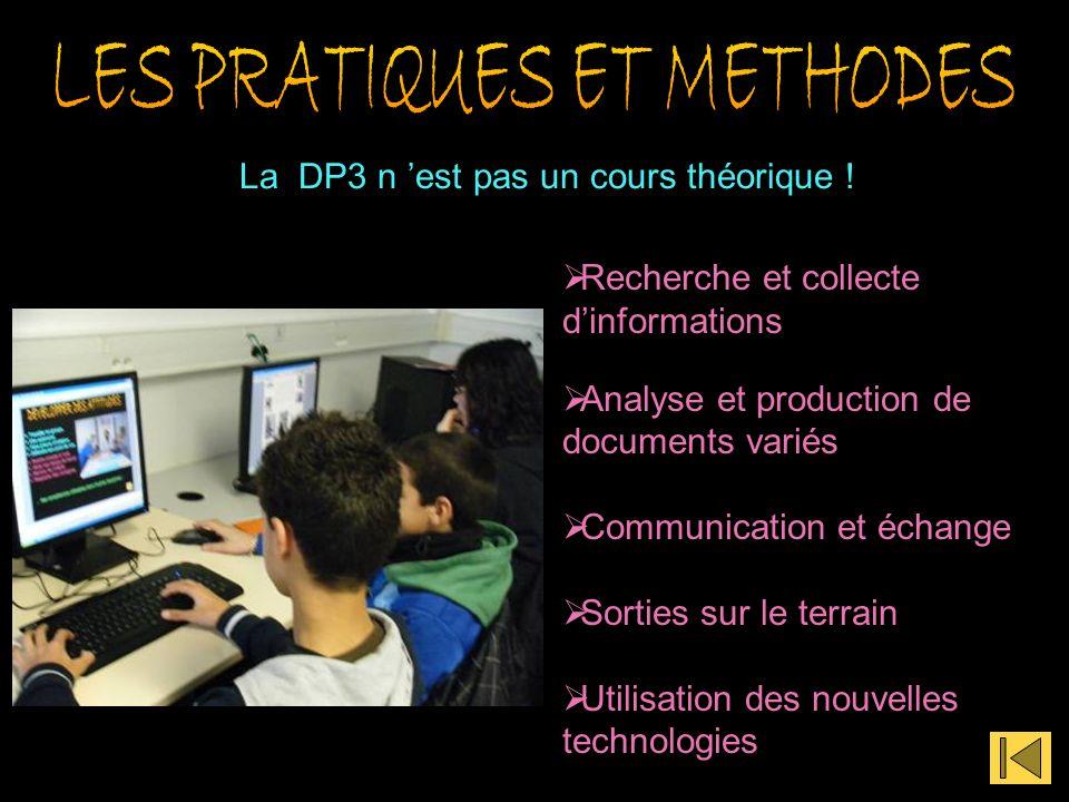 La DP3 n est pas un cours théorique .