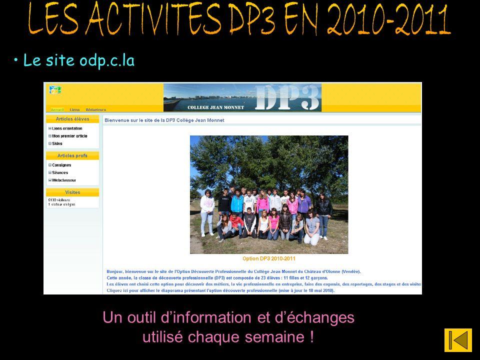Le site odp.c.la Un outil dinformation et déchanges utilisé chaque semaine !