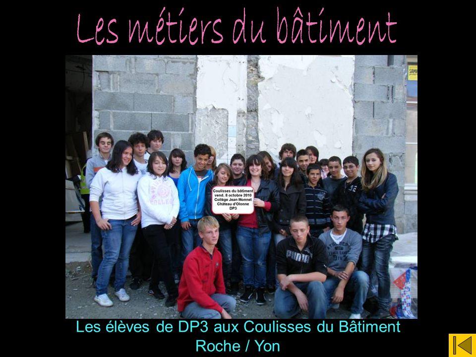 Les élèves de DP3 aux Coulisses du Bâtiment Roche / Yon