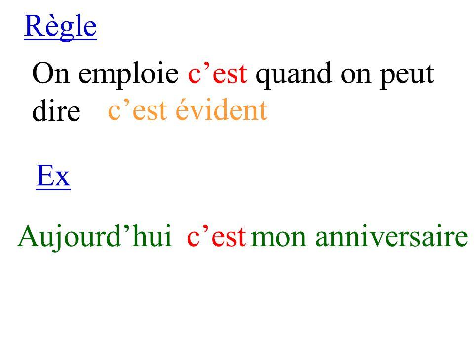 Règle On emploie sest devant Ex Le joursestlevé le participe passé dun verbe pronominal Verbe se lever
