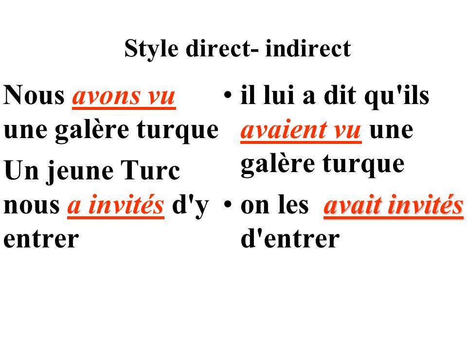 Soulignez les verbes conjugués en rouge