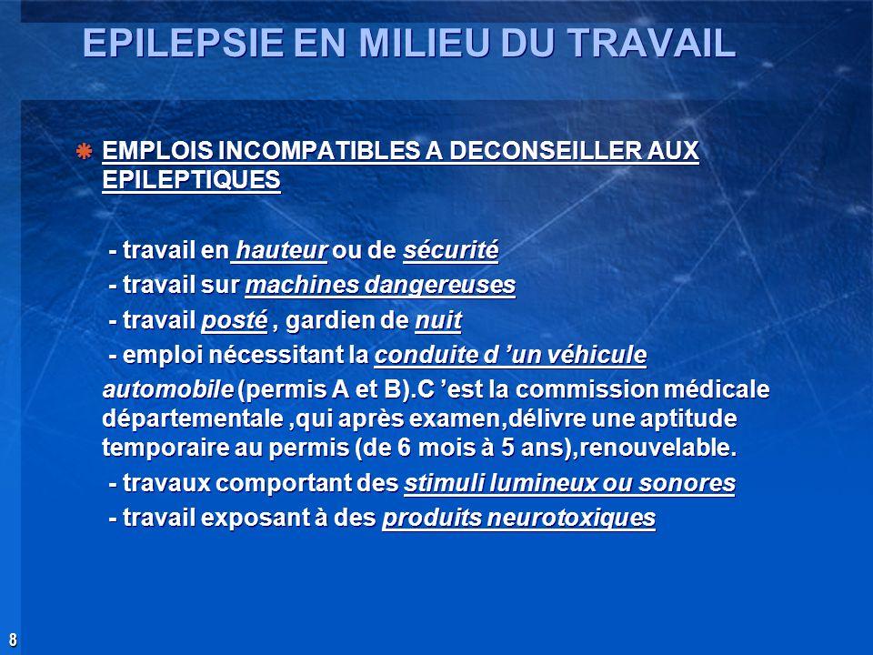 29 septembre 2004 Conclusion Eléments essentiels à prendre en considération pour la décision daptitude du MT au poste de travail.