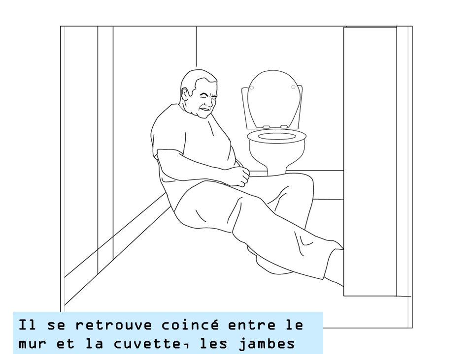 Mr Pouf est tombé dans les toilettes
