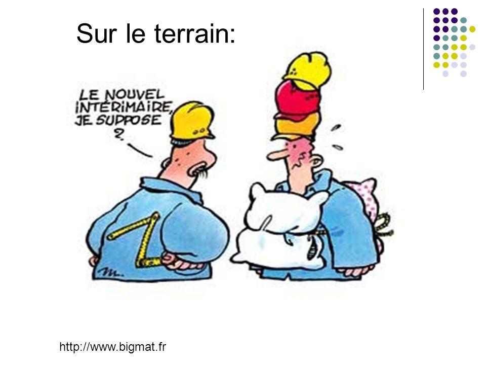 http://www.bigmat.fr Sur le terrain: