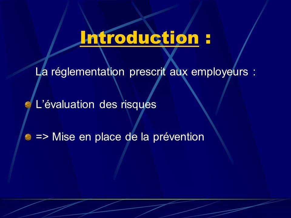 B – II – Prévention collective.