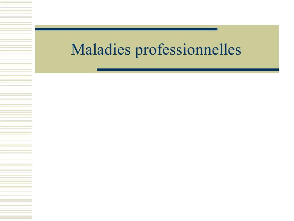 Obligations de la victime Les travailleurs (ou ayants droits) déclarent la MP à la caisse dassurance maladie (art L.461-5 du Code de la SS) Accompagnée du CMI Transmise dans un délai de 15 j suivant larrêt de travail(Art.