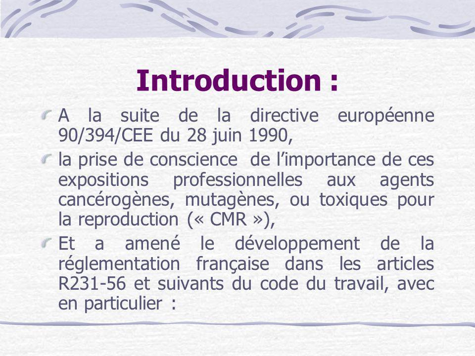 2) Réduction de lexposition : Il doit appliquer une série de mesures sur le lieu de travail, pour réduire lexposition.