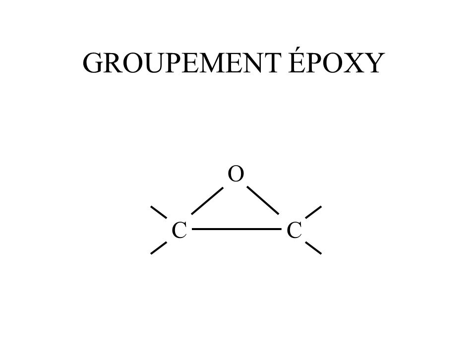 GROUPEMENT ÉPOXY O CC