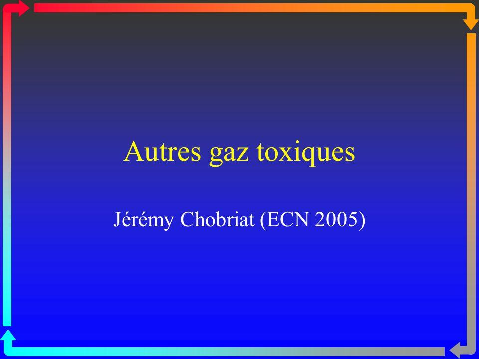 FLUOROCARBONES Métabolisme : Les fluoroalcanes sont en grande partie éliminés par voie respiratoire, inchangés, en revanche, les fluoroéthers sont métabolisés jusquà 50 % en donnant naissance à de lacide oxalique et du fluor.