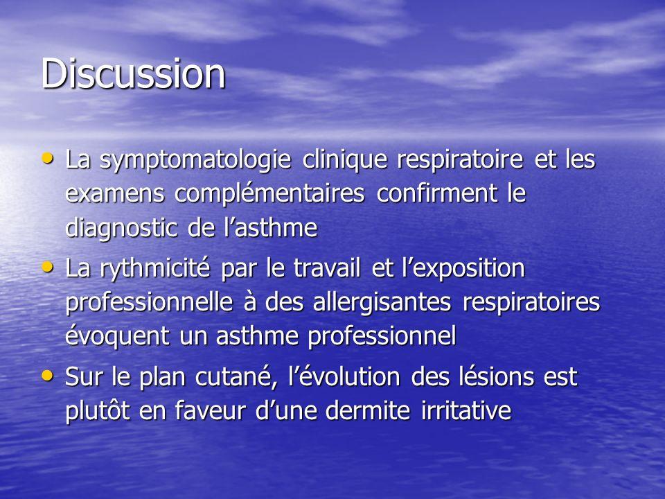 Évolution (1): Reconnaissance au titre du tableau n° 66 des maladies professionnelles du régime général.