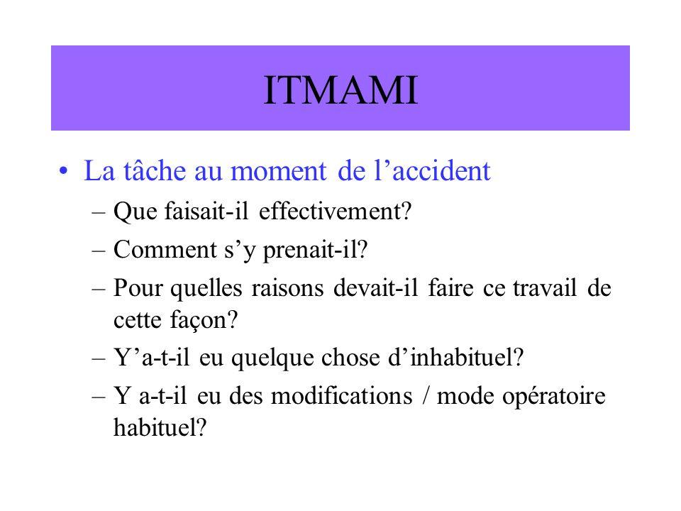 ITMAMI Le matériel –Quelle machine, quel outil et pourquoi.