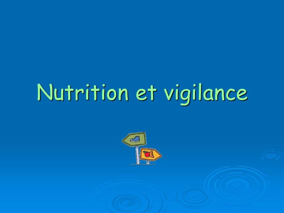 Nutrition et vigilance