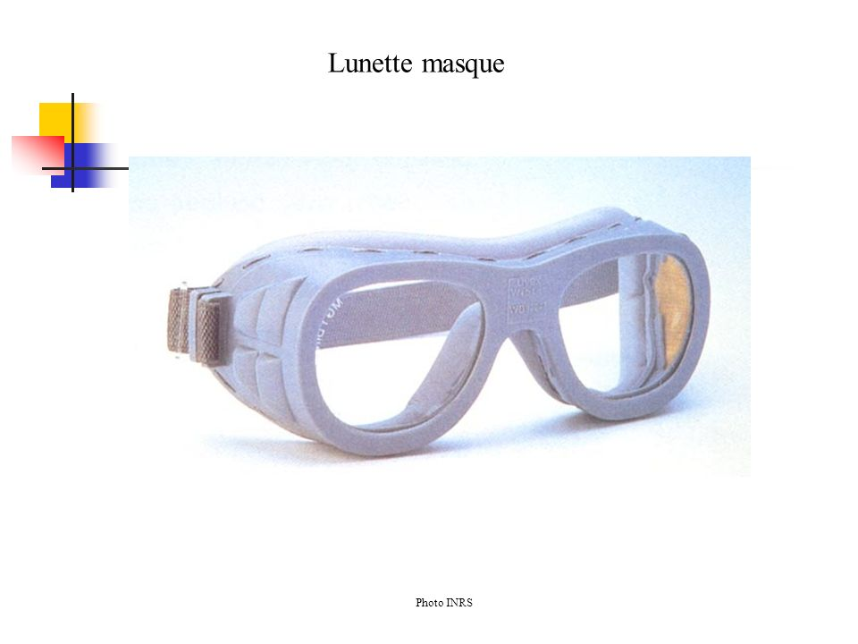 Lunette masque Photo INRS