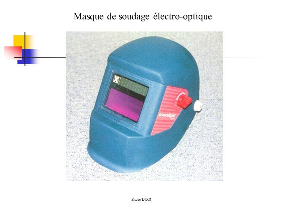 Masque de soudage électro-optique Photo INRS