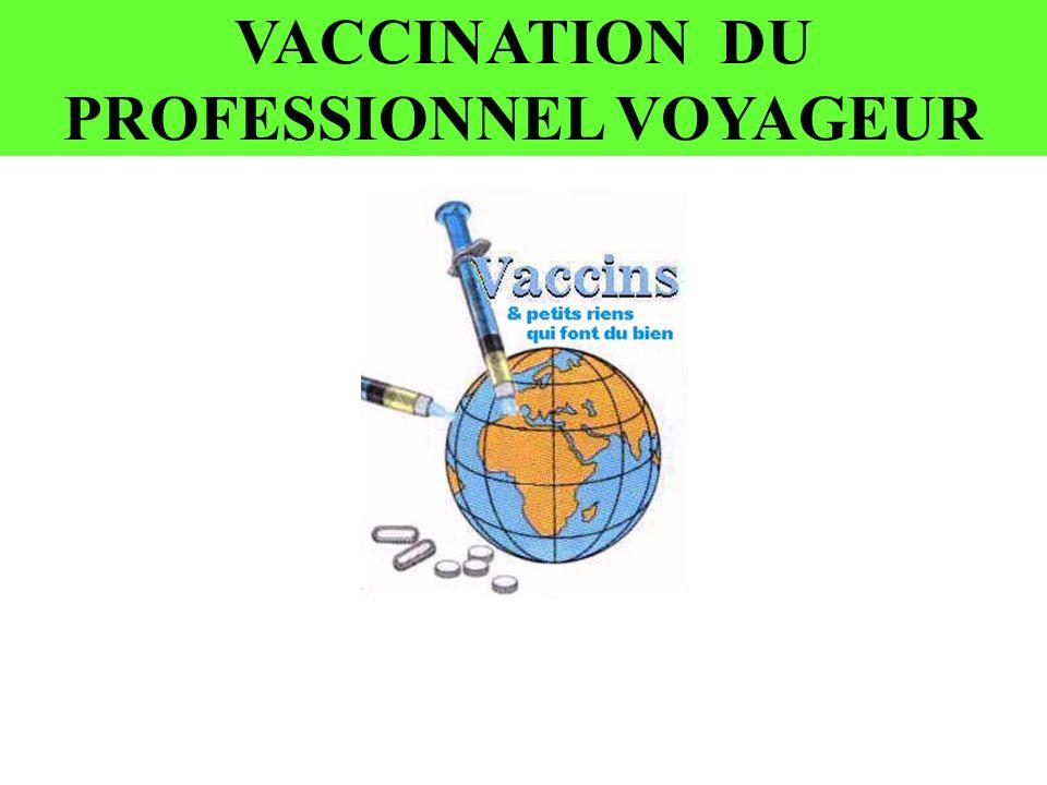 VACCINATION DU PROFESSIONNEL VOYAGEUR