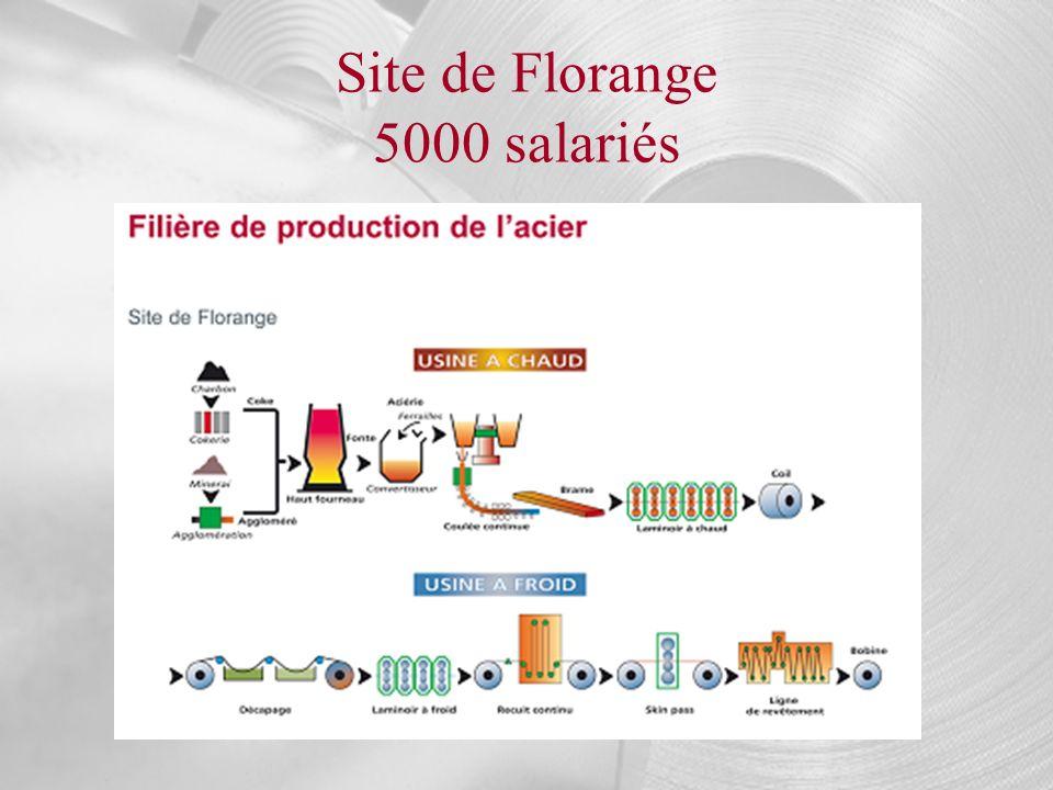Site de Florange 5000 salariés