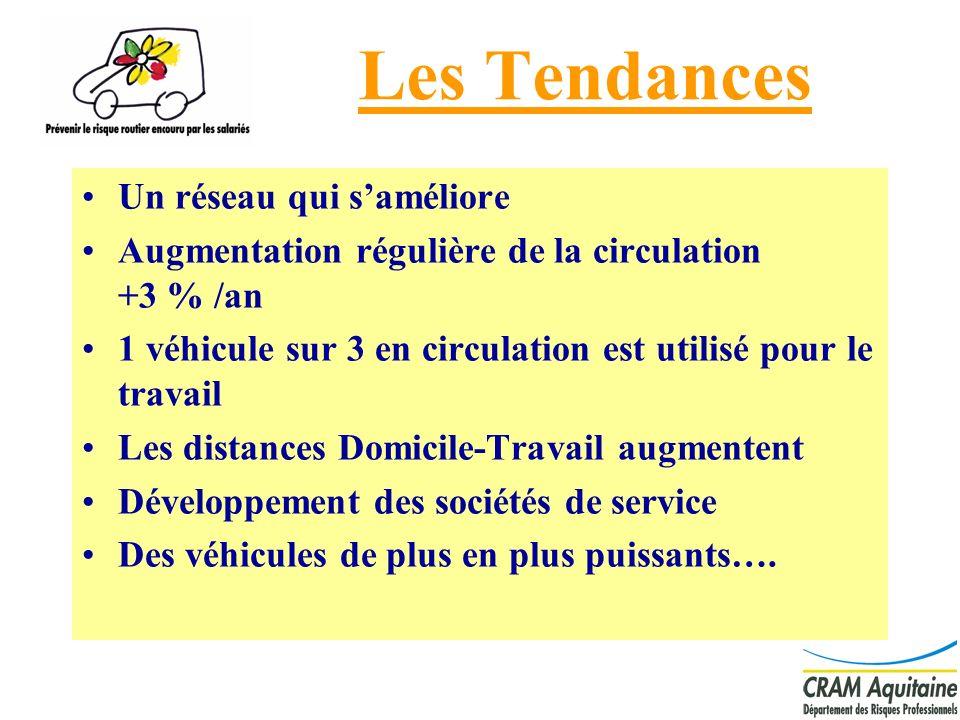 4 Les Tendances Un réseau qui saméliore Augmentation régulière de la circulation +3 % /an 1 véhicule sur 3 en circulation est utilisé pour le travail