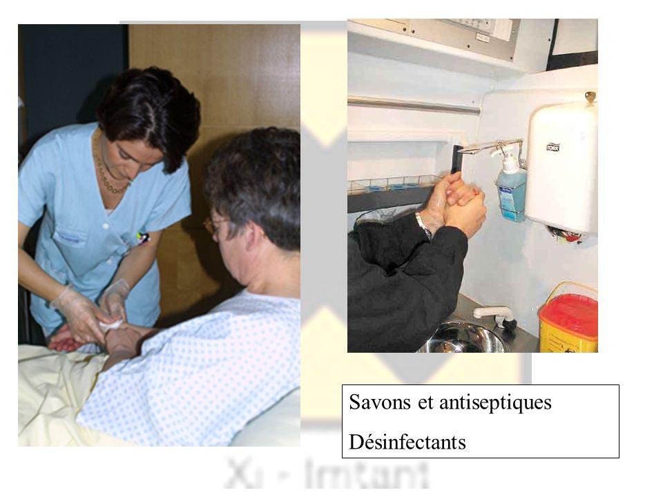 Savons et antiseptiques Désinfectants