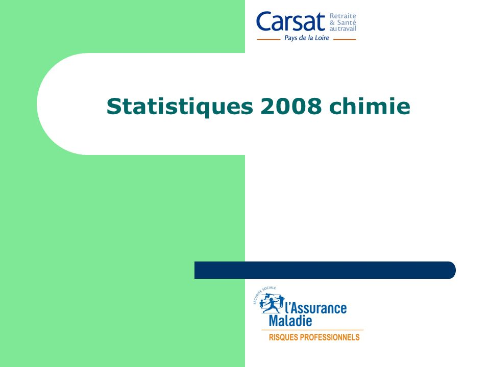 Statistiques 2008 chimie