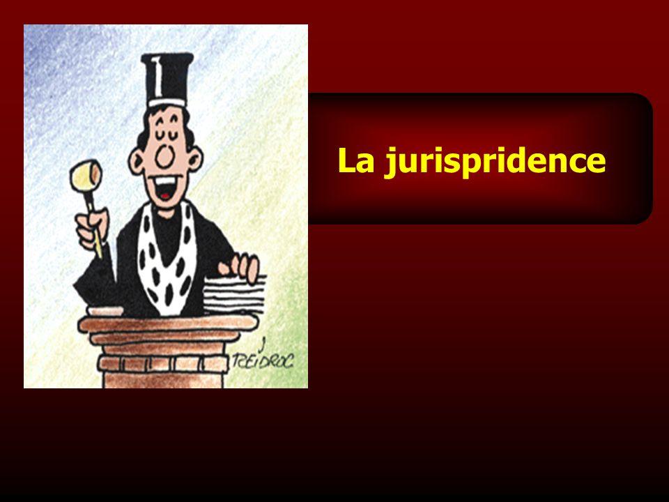 La jurispridence