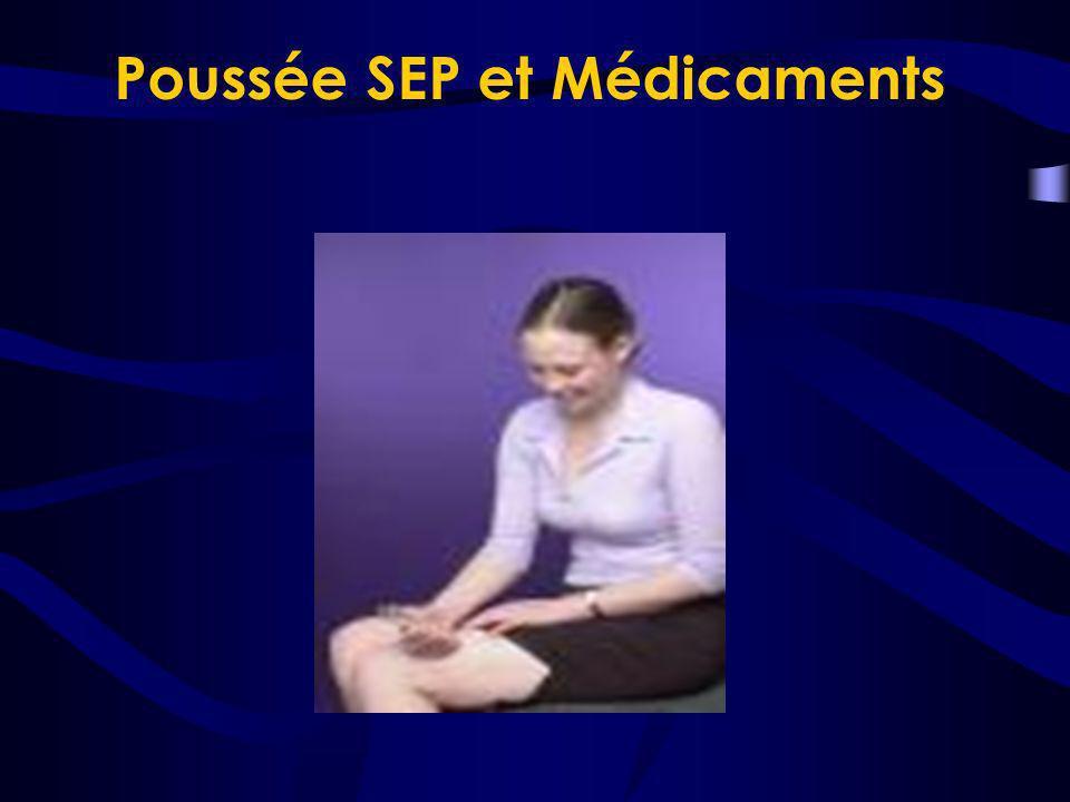 Poussée SEP et Médicaments