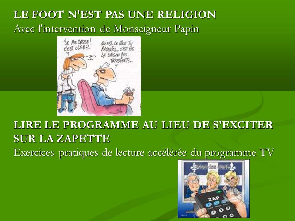 foot programme tv