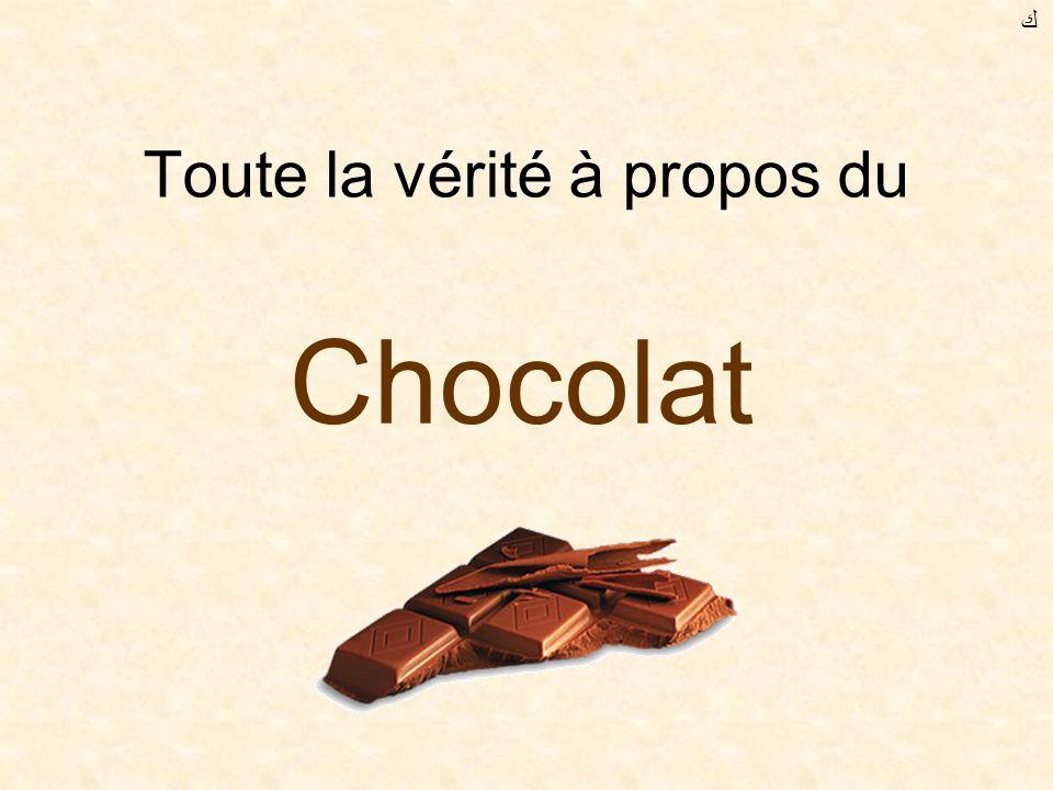 Toute la vérité à propos du Chocolat