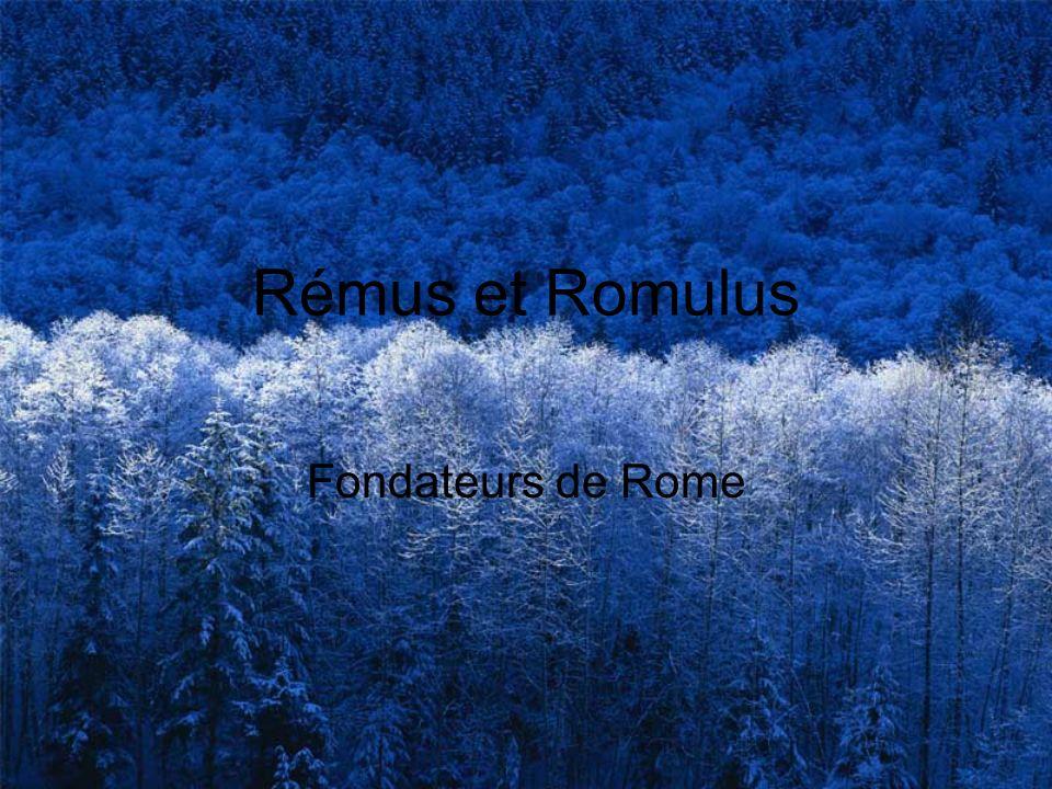 Rémus et Romulus Fondateurs de Rome