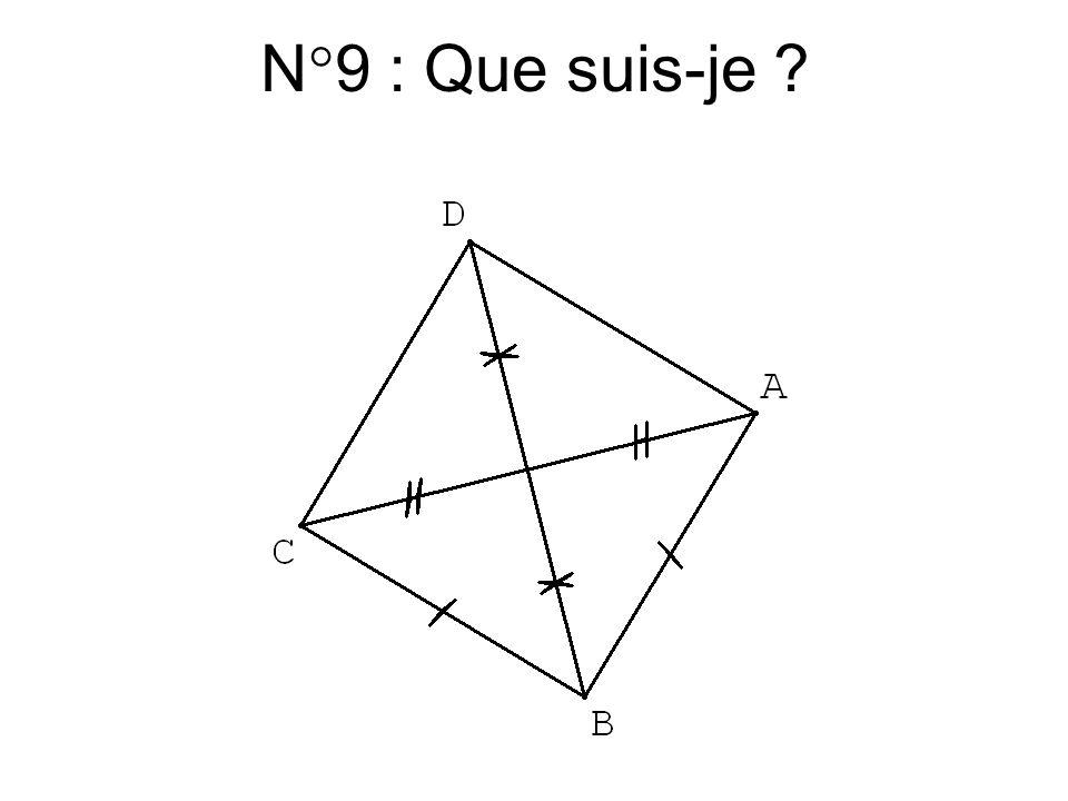 N°8 : Que suis-je ?