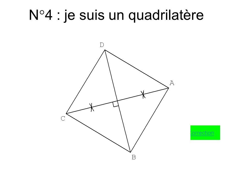 N°3 : je suis un carré Correction