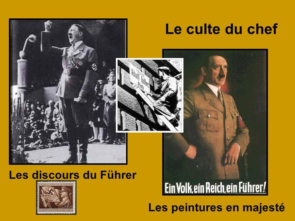 Le culte du chef Les discours du Führer Les peintures en majesté