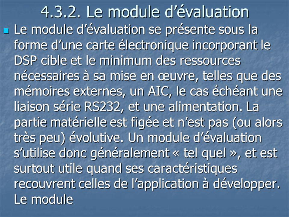4.3.2.Le module dévaluation 4.3.2.