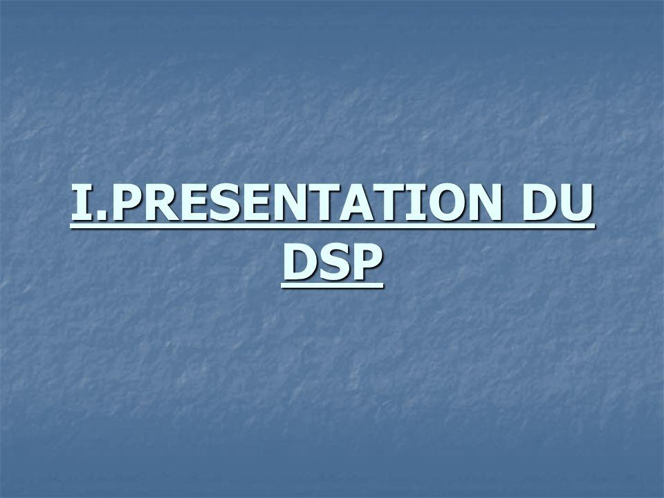 I.PRESENTATION DU DSP