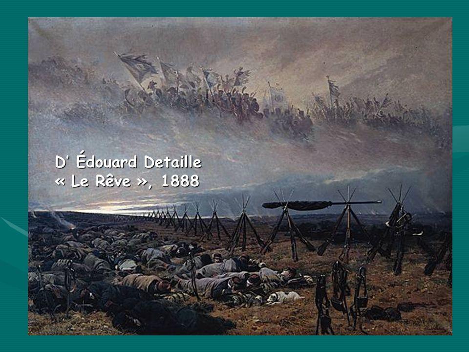 D Édouard Detaille « Le Rêve », 1888