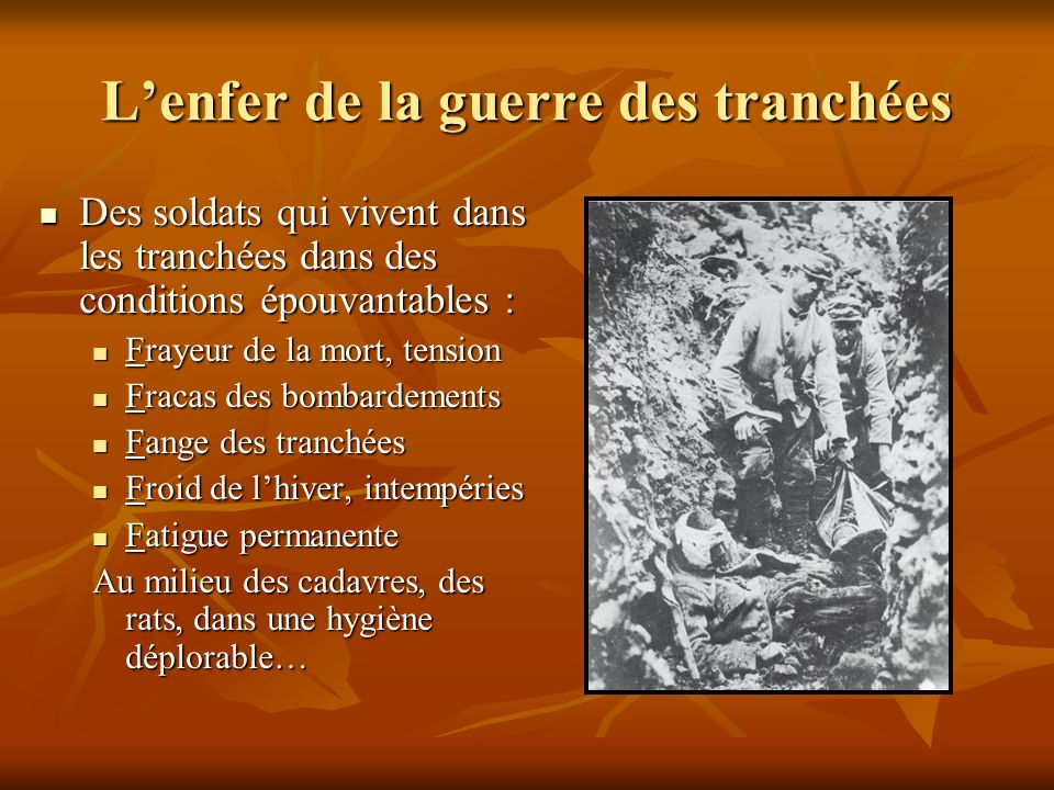 Image result for la vie dans les tranchees verdun slide player