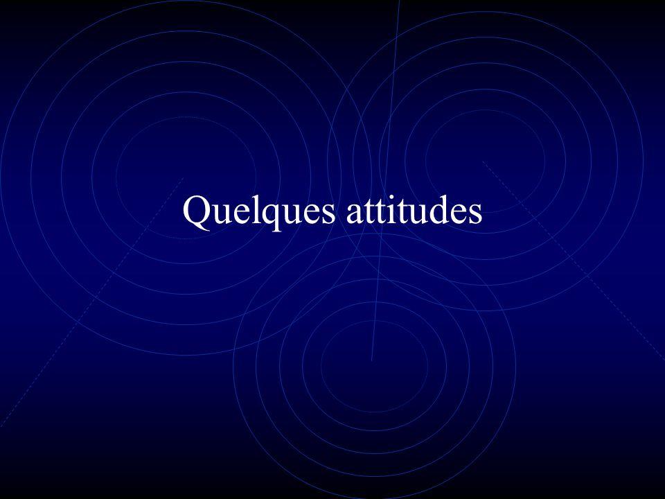Quelques attitudes