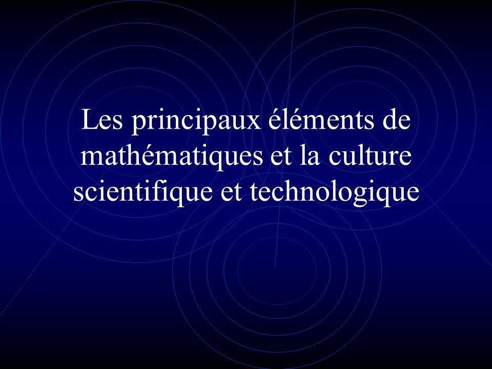 Objectifs Avoir une représentation cohérente du monde Comprendre lenvironnement quotidien Comprendre que la complexité est régie par des lois fondamentales Acquérir une culture scientifique