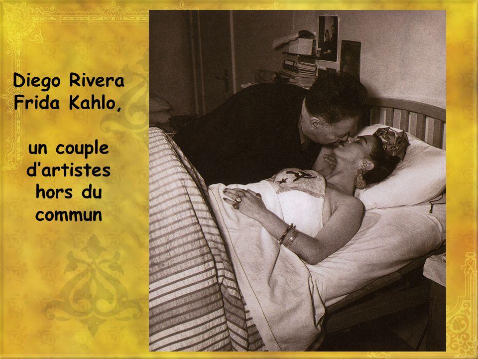 Diego Rivera et Frida Kahlo, deux artistes engagés dans le siècle Diego Rivera peint par Amadeo Modigliani, du mouvement moderne en 1916 Autoportrait de Frida Kahlo, « la colonne brisée », 1944.